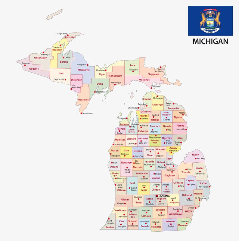 Livonia MI City Map Porta Potty Rentals